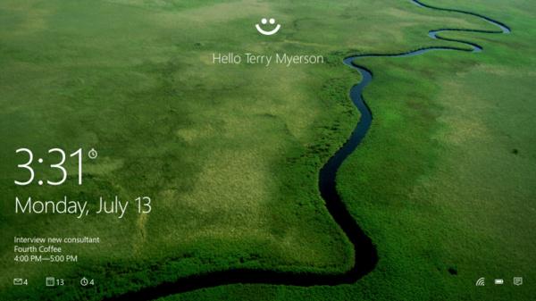 Microsoft esitteli salasanojen korvaajan: Windows Hello