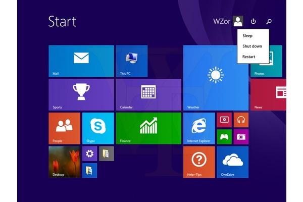 Odotetun päivityksen myötä Windows 8.1 saattaa oletuksena piilottaa tiilinäkymän