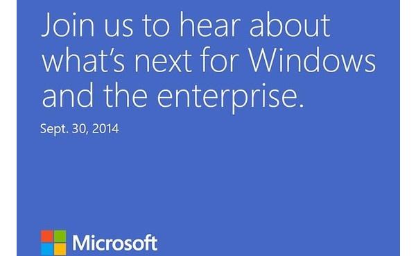 Microsoft esittelee Windows 9:n kahden viikon päästä