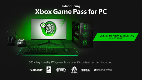 Microsoft's subscription game service, Xbox Game Pass, coming to PC