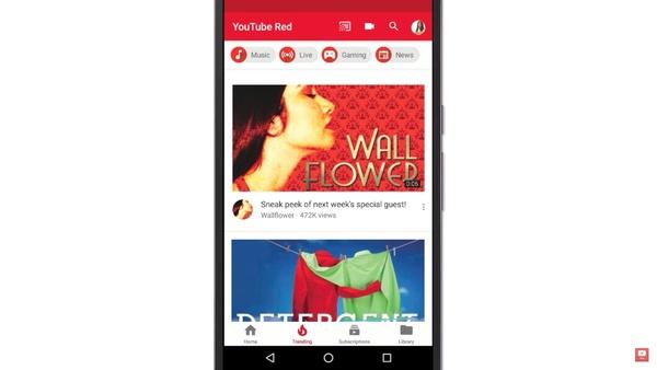 YouTube-sovellus päivittyi Androidilla, uudisti navigaation