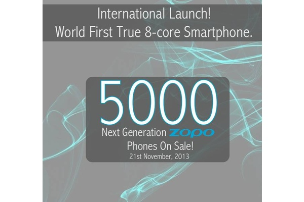 Maailman ensimmäinen aidosti kahdeksanytiminen älypuhelin myyntiin 21. marraskuuta