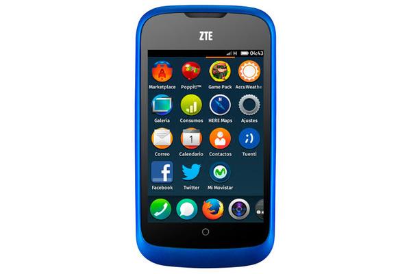 ZTE:n Firefox-puhelin myyntiin pian noin 60 euron hintaan
