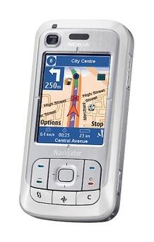 GPS-puhelimet yleistyvät kovaa kyytiä