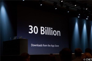 WWDC: 30 billion apps downloaded, 650,000 iOS apps