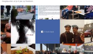 Een terugblik op je Facebook-verleden in één minuut