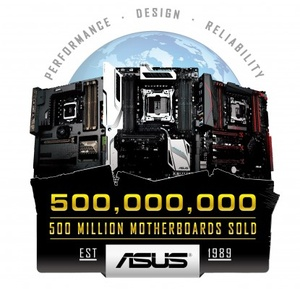 ASUS celebrates sale of 500 millionth motherboard