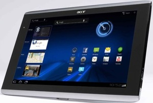 Acer Iconia tablet goes up for pre-order