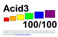 Kaikki uudet selaimet läpäisevät Acid3-testin