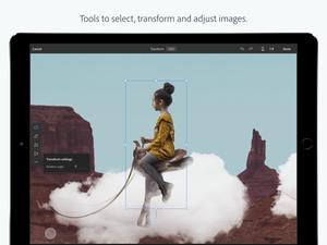 Historiallinen julkaisu – Adobe julkaisi Photoshopin iPadille