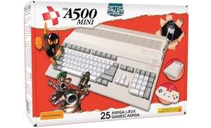 Amiga 500 -koneesta julkaistiin pienikokoinen retroversio