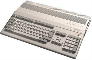 Amiga 500 -emulaattori verkkosovelluksena Chrome-selaimelle