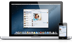Apple shows off Mac OS X Mountain Lion