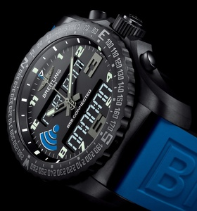 High-end luxury watch maker Breitling shows off first smartwatch
