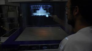 Tutkijat kehittivät usvapöydän, joka toimii kuin tieteiselokuvien hologrammi