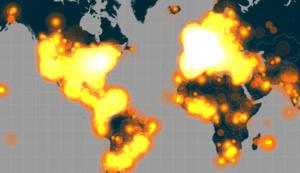 Näin keskustelu Pariisin terrori-iskusta levisi maailmalla