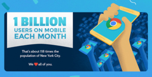 Google celebrates the release of Chrome 50 with a large infographic