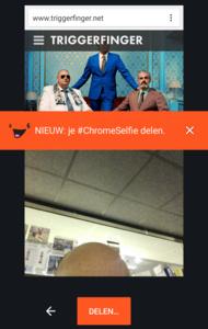 Op 1 april ChromeSelfies maken en delen met je vrienden