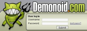 Demonoid is back, glitchy