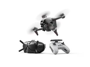 DJI:n FPV -kuvauskopteri kiihtyy nollasta sataan kahdessa sekunnissa, huippunopeus peräti 140 kilometriä tunnissa