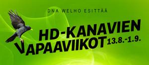 DNA avaa HD-kanavia ilmaiskatseluun tiistaista alkaen