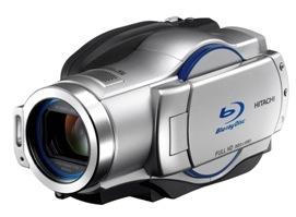 Hitachilta maailman ensimmäinen hybridi Blu-ray-videokamera