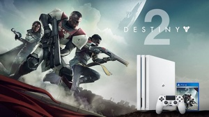 PlayStation 4 Prosta tulossa valkoinen versio – Myydään Destiny 2:n mukana