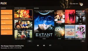 Plex streaming app now available for Xbox One and PlayStation 4
