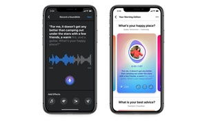 Facebook panostaa ääneen lyhyillä äänisisällöillä, podcasteilla ja Live Audio Rooms -keskusteluilla