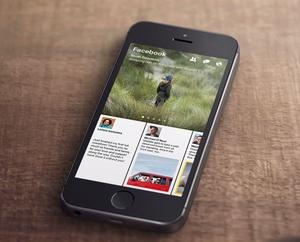 Facebook Paper mogelijk exclusief voor iPhone en VS