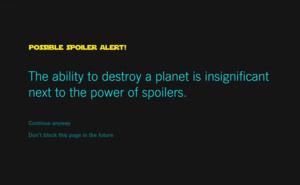 Vältä Star Wars -juonipaljastukset näillä laajennoksilla