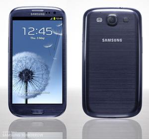 Samsung Galaxy S III release dates, press shots