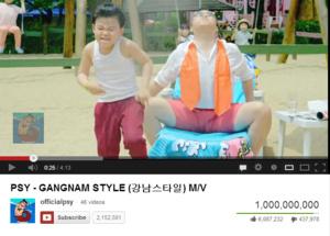 Gangnam Style rikkoi Youtube-ennätyksen