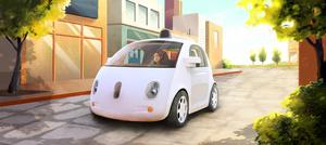 """Google rakensi """"mopoauton"""", jossa ei ole rattia"""