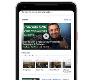 Googlen hakukone osaa nyt hakea myös videoiden sisältä