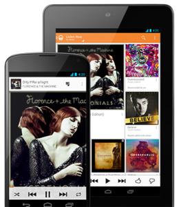 Google ryhtyi tosissaan kilpailemaan musiikkimarkkinoilla