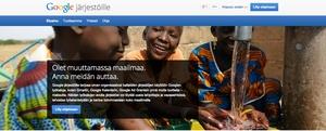 """""""Google järjestöille"""" aukeaa Suomessa - ilmaisia tuotteita voittoa tavoittelemattomille"""