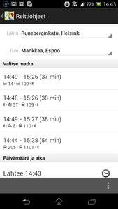 Googlen kartat kertovat nyt myös Helsingin joukkoliikenteen aikataulut