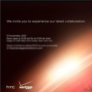 HTC announces press event for November 13th