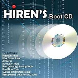 Hiren's BootCD voor al je PC-problemen