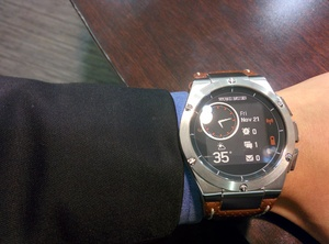 Review: The MB Chronowing smartwatch is the first with true style