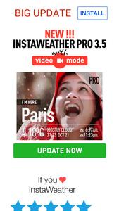 InstaWeather Pro nu ook met video