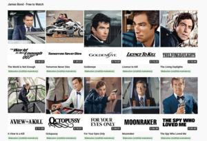 James Bond -elokuvat ovat nyt katsottavissa ilmaiseksi YouTubessa - Jos omistat VPN:n