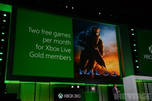 E3 Xbox One Keynote: Xbox Live Gold members to get free games