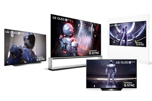 LG paljasti uudet televisionsa – Sisältävät pelaajille suunnatun G-Sync-toiminnon