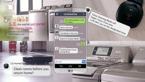 LG vie kodinhoidon uuteen aikaan: kodinkoneiden kanssa voi käydä pikaviestikeskusteluita