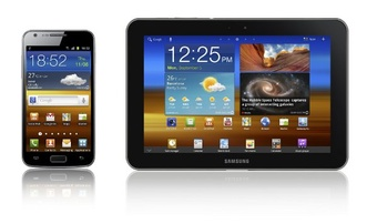 Samsung shows off updated LTE versions of Galaxy S II and Galaxy Tab 8.9