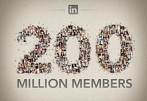 LinkedIn reaches 200 million users