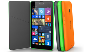 Microsoft unveils new Lumia 535, their first branded Windows Phone