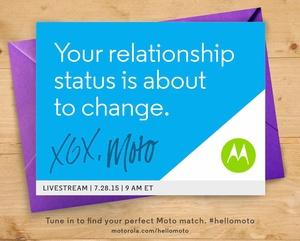 Motorola to unveil new devices on July 28th